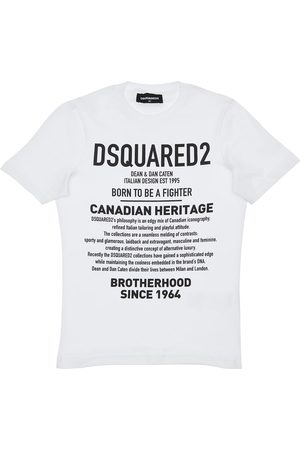 Dsquared2 Heritage Printed Cotton Jersey T-shirt