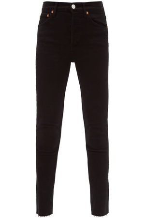 RE/DONE High-rise Cropped Jeans - Womens