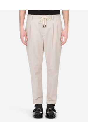 Dolce & Gabbana Men Trousers - Trousers and Shorts - STRETCH COTTON JOGGING PANTS