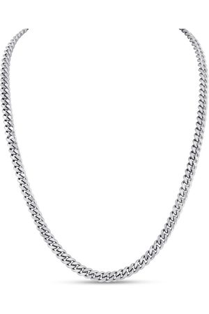 SuperJeweler Ladies Stainless Steel 20 Inch Curb Chain Necklace