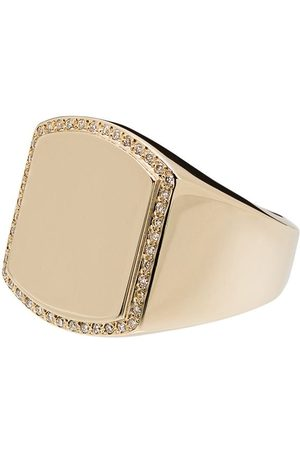 DRU. Boyfriend 14kt diamond signet ring