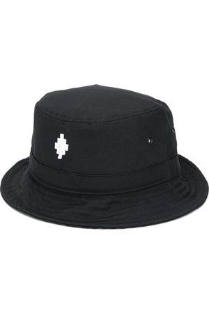 MARCELO BURLON Cross logo bucket hat
