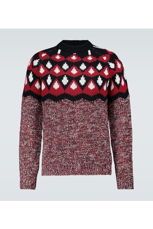 Prada Jacquard wool and cashmere sweater