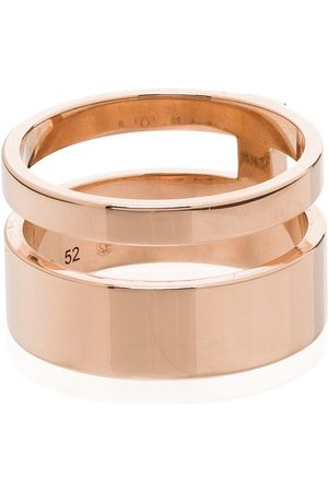 Repossi 18kt rose Berbere double ring