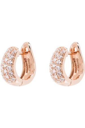 Dana Rebecca Designs 14kt rose diamond huggie earrings