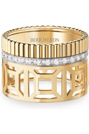 Boucheron Yellow and Diamond Quatre Radiant Edition Ring