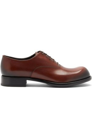 Prada Cadett Leather Derby Shoes - Mens