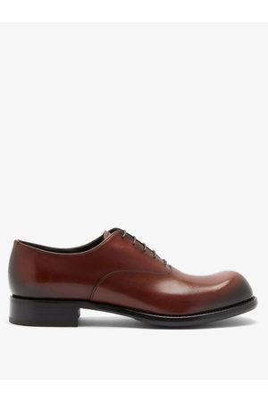 Prada Men Shoes - Cadett Leather Derby Shoes - Mens