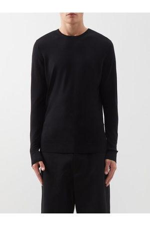 Sunspel Men Jumpers - Merino-wool Sweater - Mens