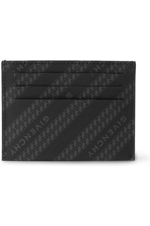 Givenchy Men Purses & Wallets - Logo-Print Coated-Canvas Cardholder