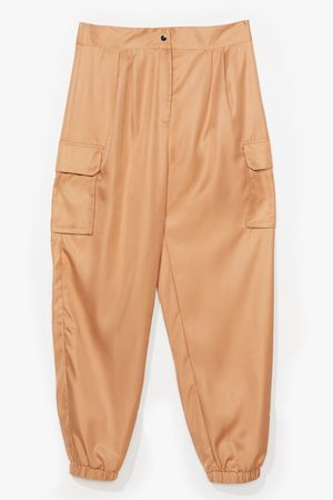 NASTY GAL Womens Plus Size Cargo Trouser - - 16
