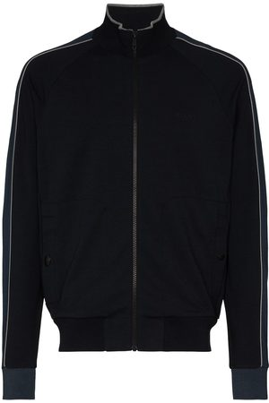 Z Zegna Zip-up high-neck jacket