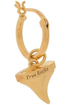 TRUE ROCKS Men Earrings - Shark Tooth single hoop earring