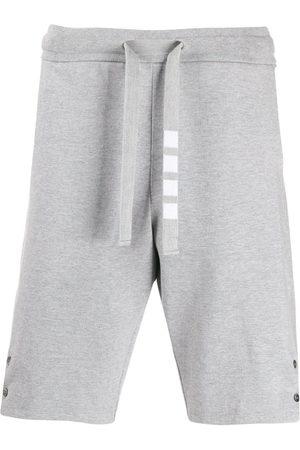 Thom Browne Side vent 4-Bar track shorts