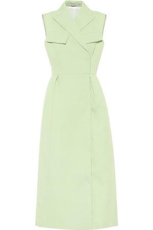EMILIA WICKSTEAD Arly cloqué wrap dress