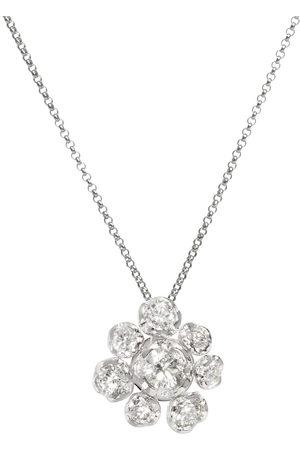 ANNOUSHKA 18kt Marguerite diamond large necklace - 18ct