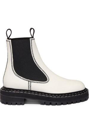 Proenza Schouler Two-toned Chelsea boots