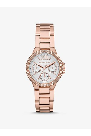 Michael Kors MK Mini Camille Pavé Rose -Tone Watch - Rose