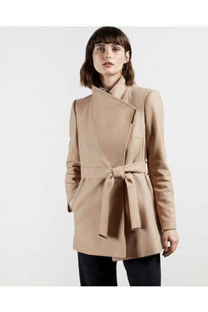 Ted Baker Wool Wrap Short Coat