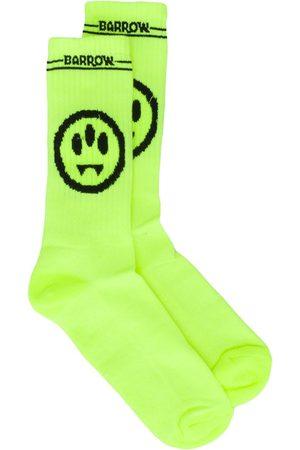 BARROW Smile-jacquard socks
