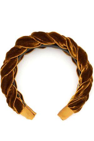 Jennifer Behr Woven detail hairband