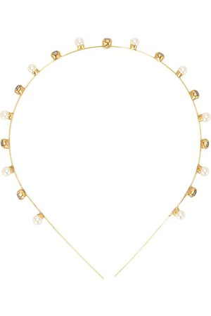 Jennifer Behr Iva crystal-embellished headband