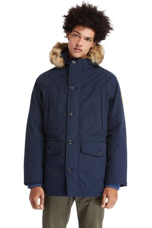 Timberland Boundary peak waterproof insulated parka for men in navy navy, size 3xl