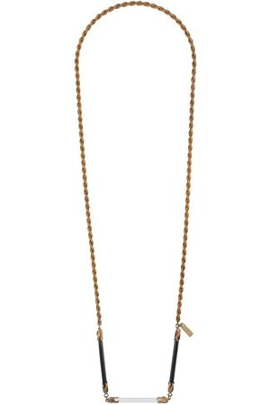 A.N.G.E.L.O. Vintage Cult 1980s rope chain necklace - Metallic