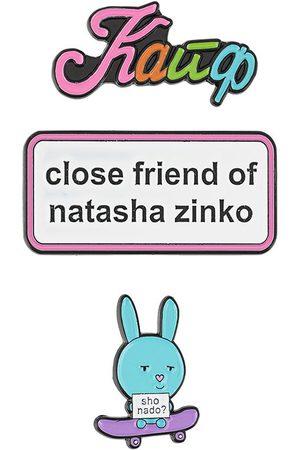 Natasha Zinko Three-pack pin set
