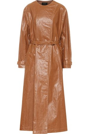 Isabel Marant Corly linen-blend trench coat