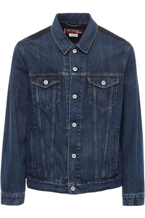 JUNYA WATANABE Levi's Cotton Denim Jacket W/ Wool Back
