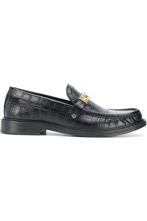 Moschino Lettering logo loafers