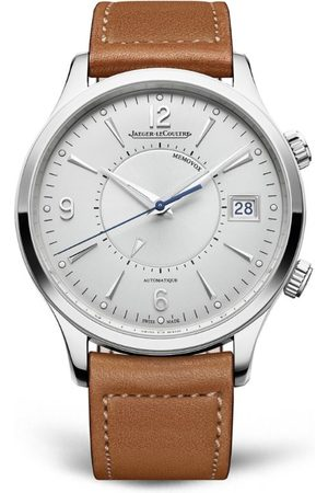 Jaeger-LeCoultre Stainless Steel Master Control Memovox Watch 40mm