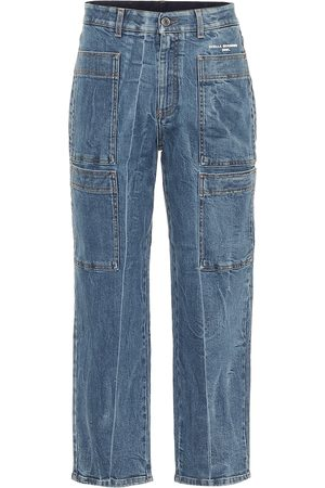 Stella McCartney High-rise carrot leg jeans