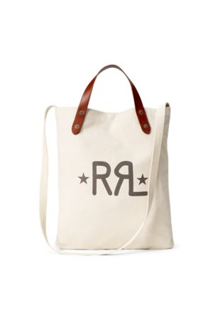 RRL Canvas Logo Market Tote