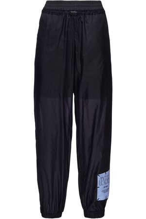 McQ Women Trousers - Genesis Ii Nylon Track Pants