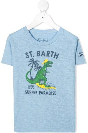 MC2 SAINT BARTH Dino surfing print T-shirt