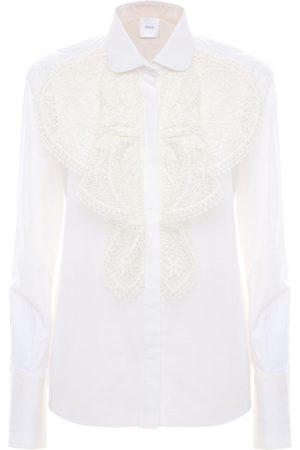 Patou Embroidered Cotton Poplin Shirt