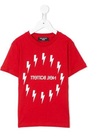 Neil Barrett Logo T-shirt - 040RED