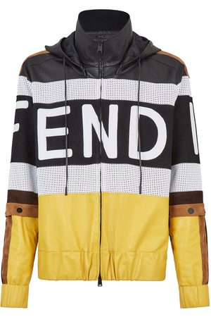 Fendi Panelled logo jacket