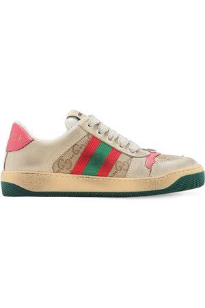 Gucci Web & Gg Canvas Sneakers