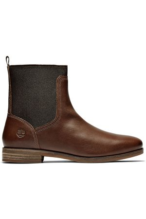 Timberland Somers falls chelsea boot for women in dark dark , size 4