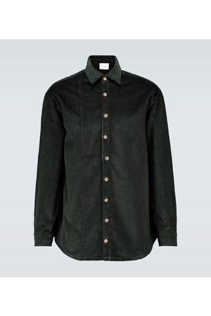 King and Tuckfield Oversized corduroy shirt