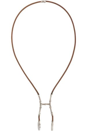 Hermès 2000s pre-owned bamboo bustier necklace