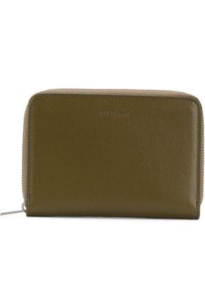 Jil Sander Debossed-logo zip-around wallet