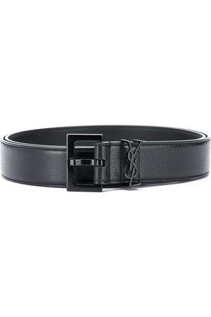 Saint Laurent Monogram buckle belt