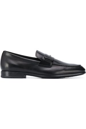 Tod's Single T leather loafers