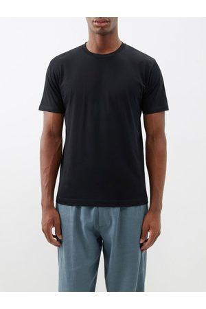Sunspel Men Short Sleeve - Riviera Cotton-jersey T-shirt - Mens