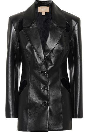 Matériel Tbilisi Faux leather blazer
