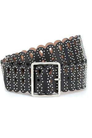 Alaïa Embellished leather belt